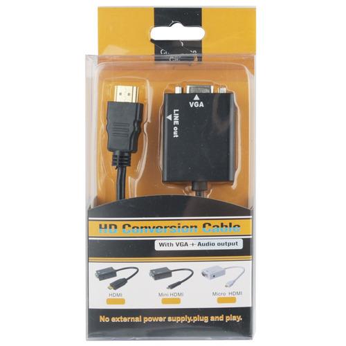 serie 1.3 26cm para vga audio video cable conexion 3,5