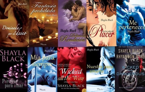 serie  amantes perversos (erótico) 11 libros digitales