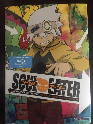 serie anime soul eater cds 4 originales