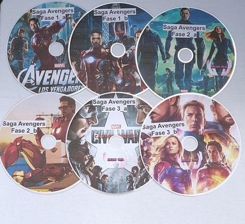 serie avengers vengadores bluray fisico completa