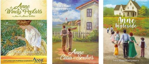 série completa anne with ane com 6 livros (ciranda + p. azul