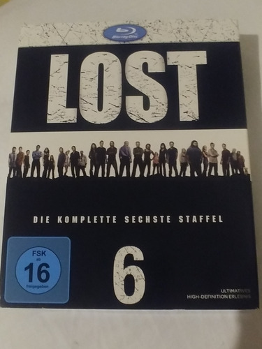 série completa lost blu ray áudio e legendas pt-br 36 discos