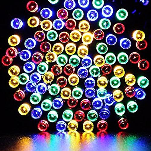 serie de 200 luces led de colres 22m!! envio gratis!!!