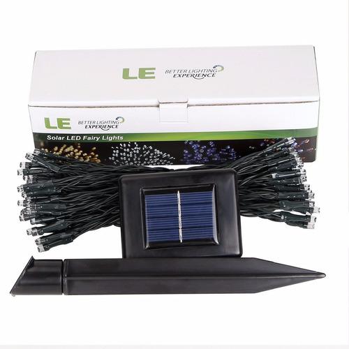 serie de 200 luces led solar de 22 m!! envio gratis!!!