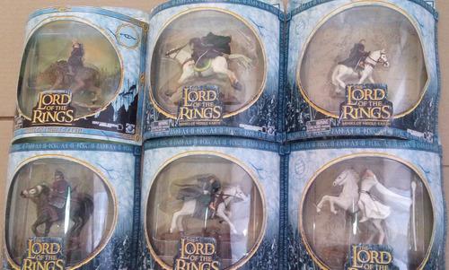 serie de 6 caballos de lord of the rings h2