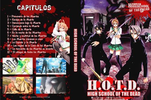 serie de anime highschool of the dead completa