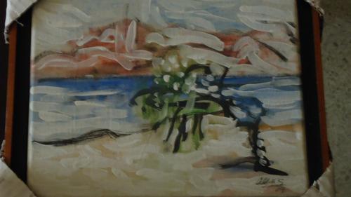 serie de cuadro de isla borracha iii