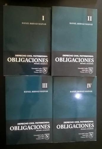 serie de libros derecho civil patrimonial obligaciones