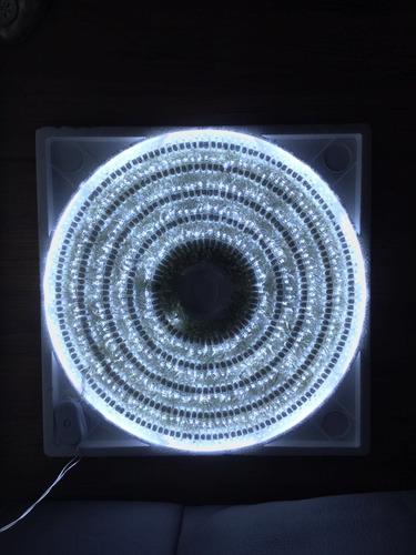 serie de luces 500 focos led blanca con control de cambios