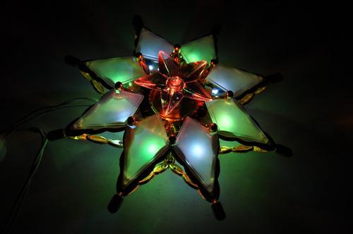 Serie de navidad estrella navide a punta de arbol 69 for Cataleg punts estrella