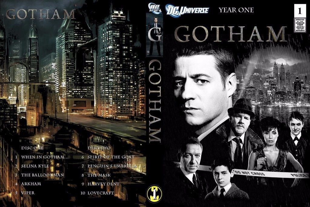Serie de tv gotham dvd menu simple espa ol latino bs Gotham temporada 3 espanol