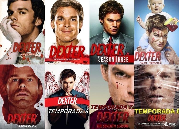 Serie Dexter Temporadas 1-2-3-4-5-6-7-8 Completa Audio - $ 1.870,00 ...
