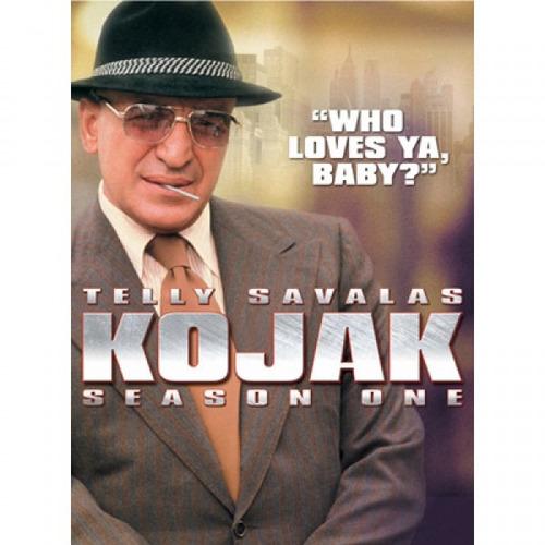 serie dvd original kojak season 1 telly savalas envío gratis