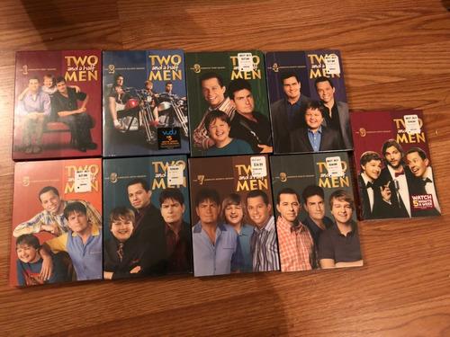 serie dvd original two and a half man (nueve (9)temporadas)