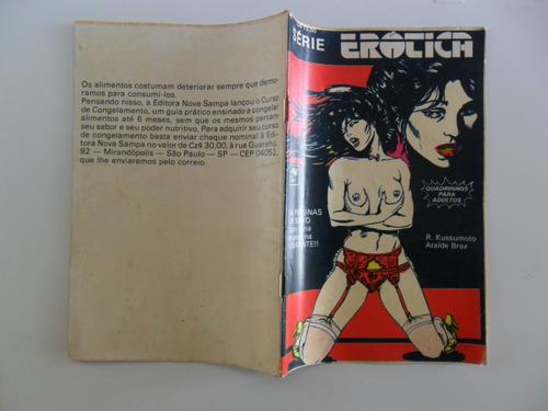 série erótica! r. kussumoto! nova sampa 1986!