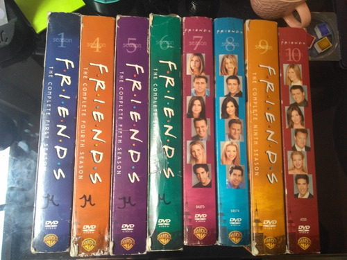 serie friends clasica dvd temporadas subs español warner
