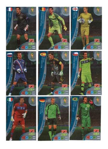 série goal stopper - cards da copa 2014