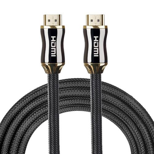serie hdmi 2.0 15m cuerpo metal velocidad 19 pin cable