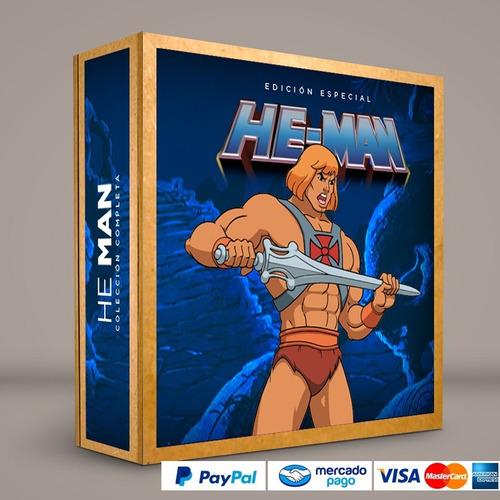 serie he-man presentación dvd colección completa