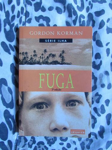 série ilha - gordon korman (2 livros da trilogia)
