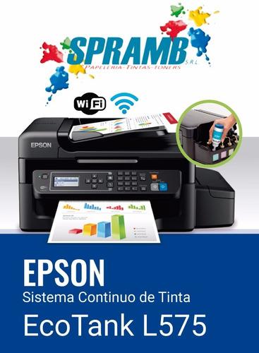 serie l impresoras epson con sistema original de fabrica