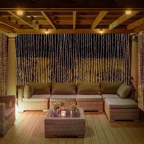 serie led 20 mts decoracion ambar vintage luz  blanco calido o blanco frio para decoraciones en eventos