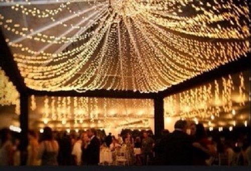 serie led cálido claro 15 mts. 300 luces vintage navideño