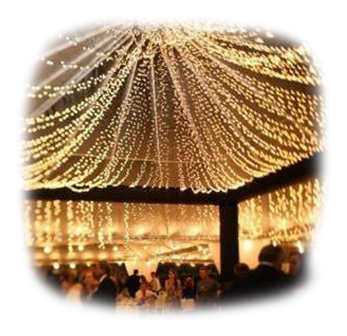 serie led de 50m bodas eventos vintage navideña