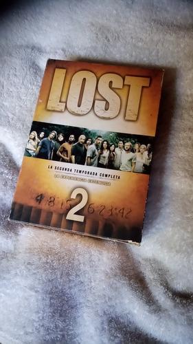 serie lost segunda temporada completa dvd
