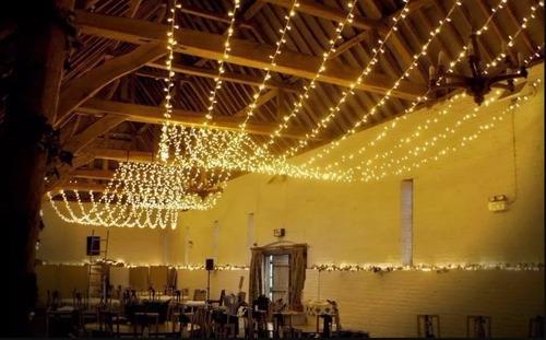 serie luces 20 mts decoracion blanco calido vintage fiesta