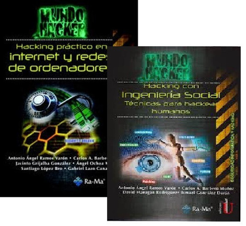 serie mundo hacker -hacking practico 2 tomos - ediciones u