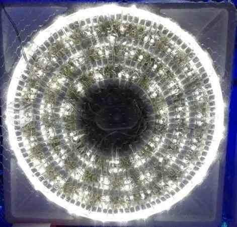 serie navideña 100 luces led blanco calido y multicolor