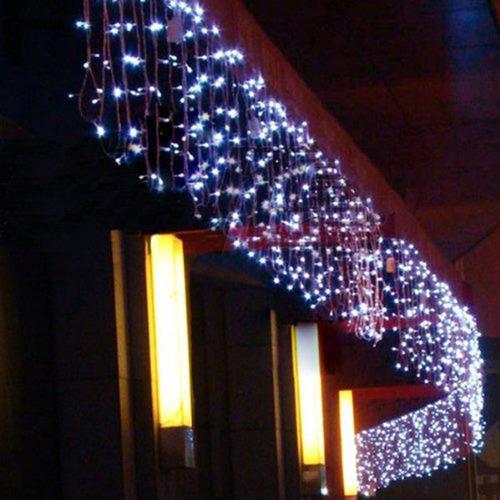 serie navideña 300 focos luz led 4.5 metros