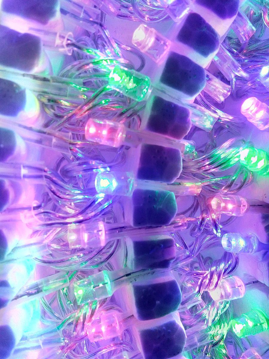 4ec28a9e82c Serie Navideña De 200 Led Multicolor  Arbol De Navidad -   310.00 en ...