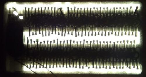 serie navideña led 140 luces color blanco calido 8.1 metros