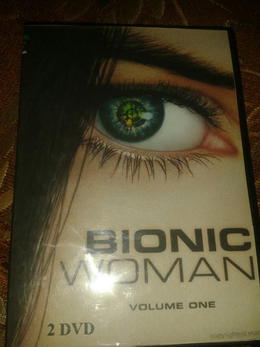serie para tv en dvds   bionic woman