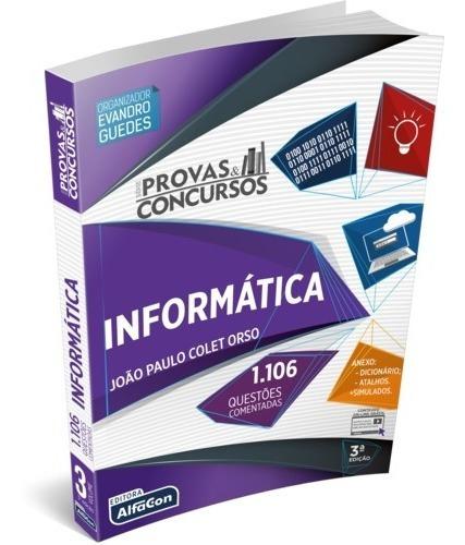 série provas & concursos - informática - 3ª edição