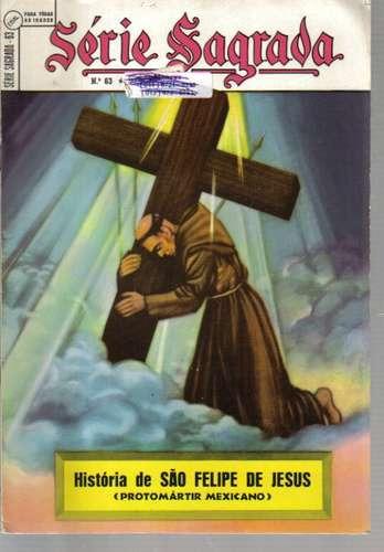 serie sagrada 63 - história de são felipe de jesus
