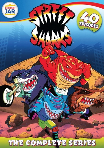 serie street sharks - tv series digital antiguas