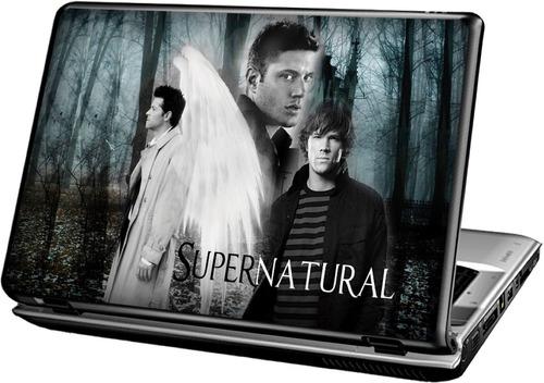 série supernatural - sobrenatural - skin adesivo p notebook