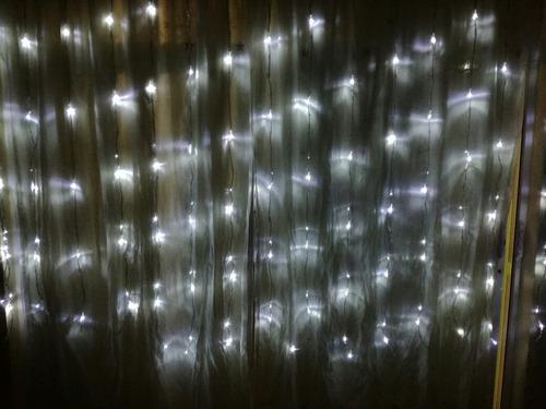 serie tipo cortina 320 led blanco