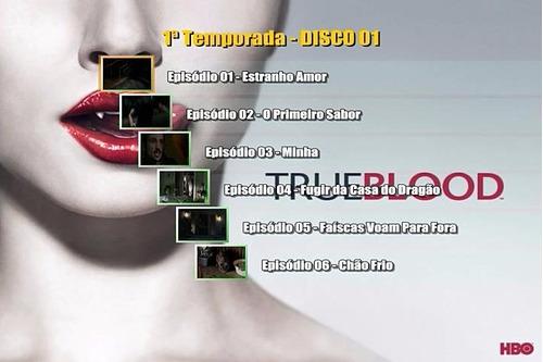 serie true blood (1ª até 7ª temporada) com frete grátis