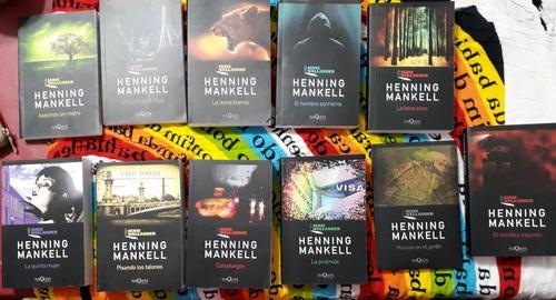 serie wallander, henning mankell