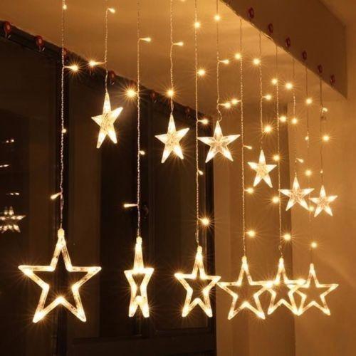 series de luces estrellas luz cálida 3 metros luces boda