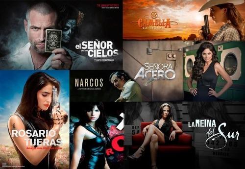 series y telenovelas  mexicanas full hd combos de 5 series