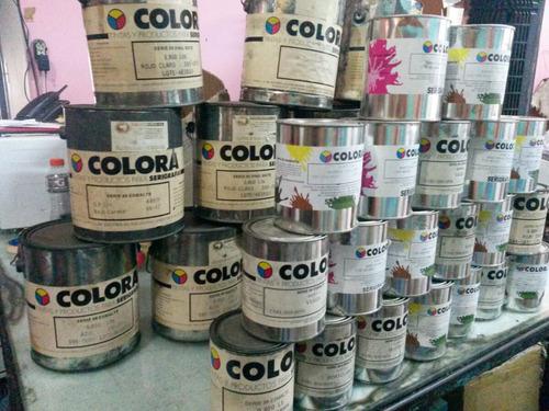 serigrafia colora tinta de excelente  calidad vinil marastar