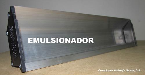 serigrafia emulsionador y racleta squegges fabricación venta