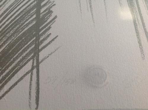 serigrafía original. maría luisa manassero. firmada