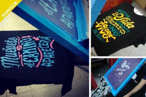 serigrafia, sublimado, poliflex, bordado, camisetas