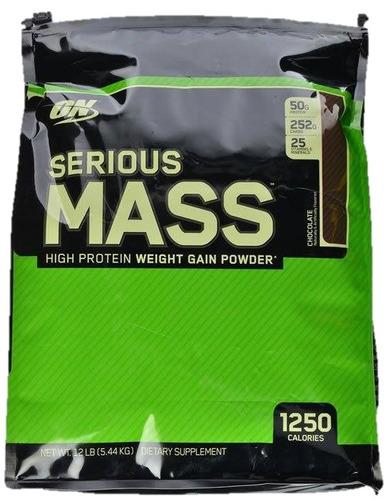 serious mass 12 libras